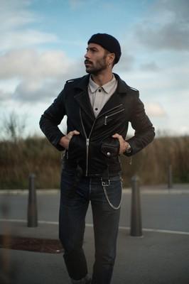 style homme biker